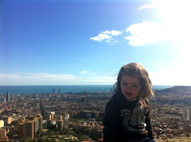Bike tour with kids in Barcelona (Best views of the city)