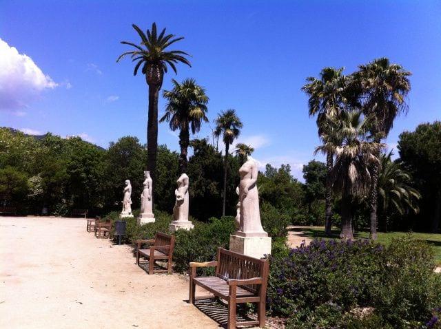 Eina park and playground in Barcelona