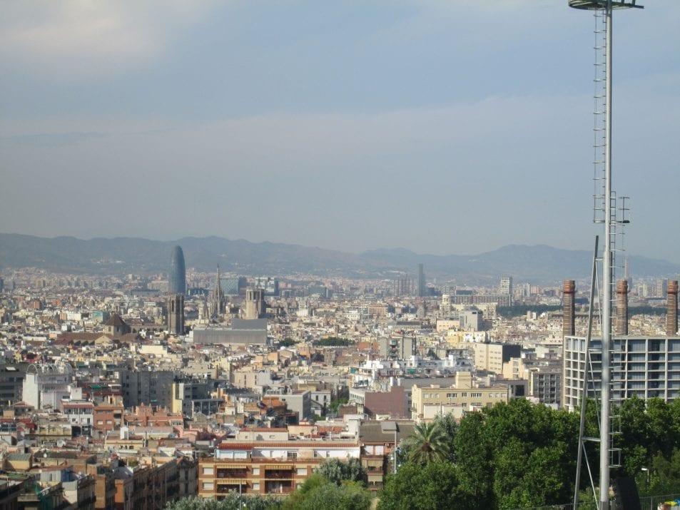 Montjuïc Swimming Pool in Barcelona