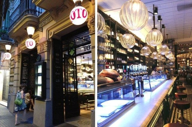 "Toto, a ""slow food"" restaurant in Eixample of Barcelona"