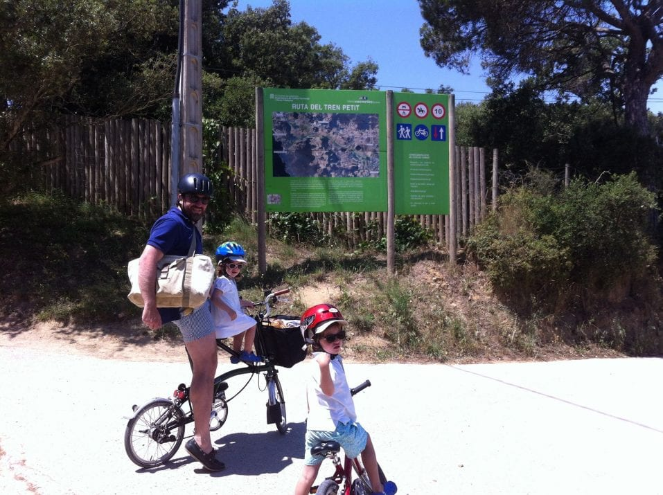 Green Route Palafrugell – Castell beach. Bike tour
