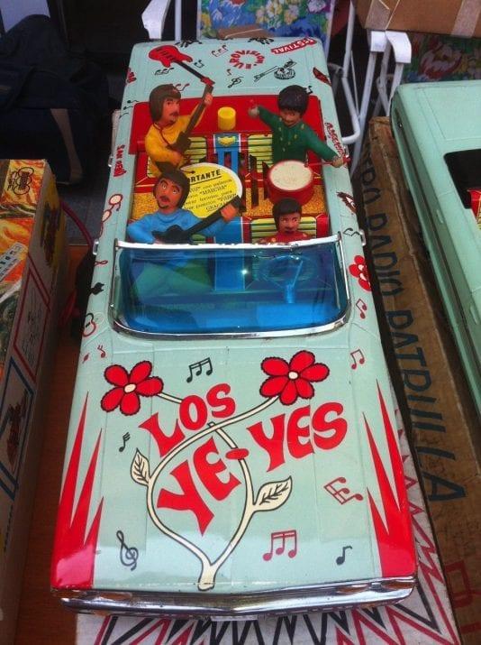 Toys flea market of Masadas Square