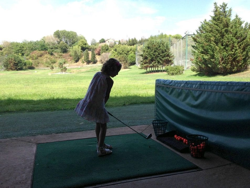 A family pitch & putt day