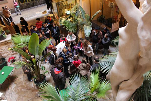 Children´s workshop in European Museum of Modern Art