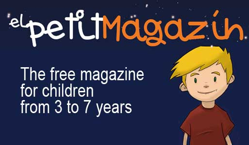 free magazine for children in barcelona