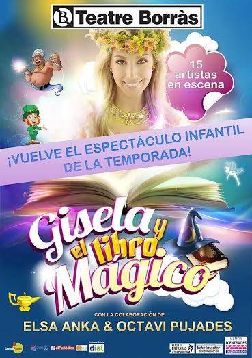 Gisela y el libro mágico