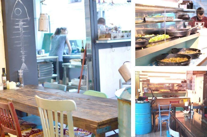 temps de terra | restaurante ecologico barcelona