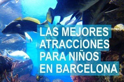 Mejores atracciones para niños en Barcelona