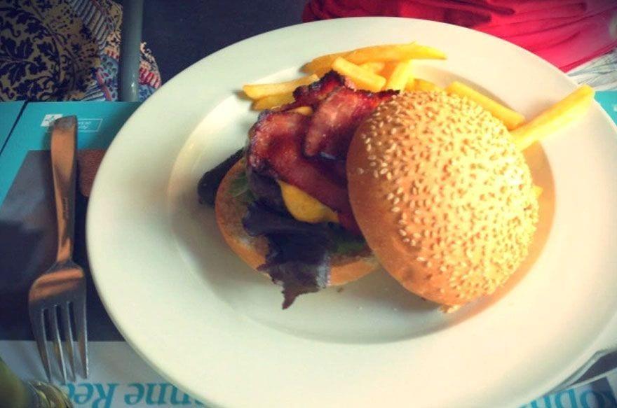 hamburguesas para ir con niños barcelona