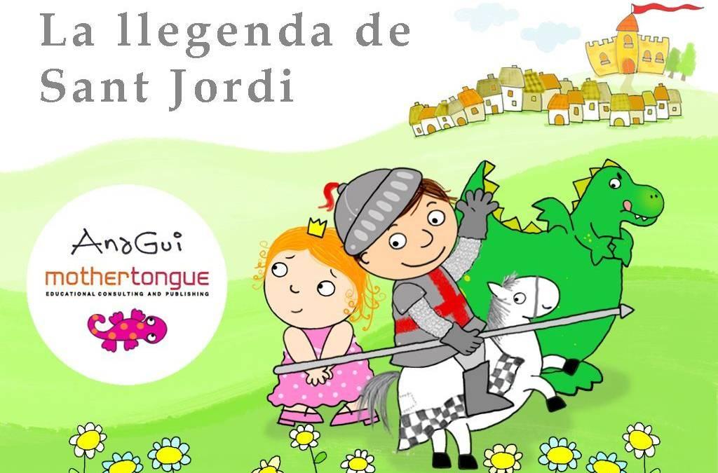 La leyenda de Sant Jordi en tu Ipad