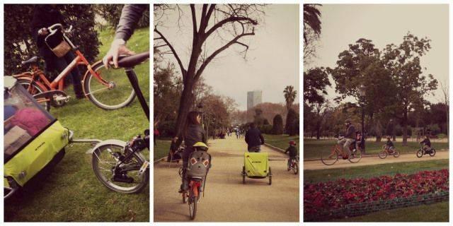 En bici por Barcelona con niños (Ruta en bici I)