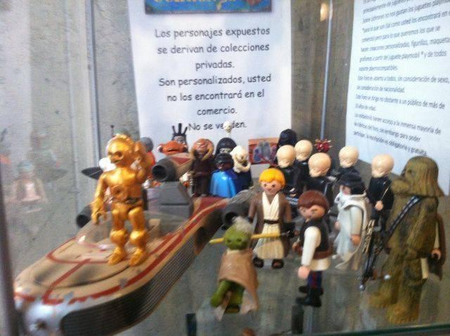 Visitamos la exposición de Playmobils