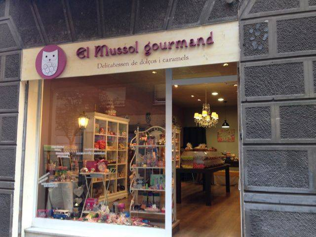 Tienda de caramelos El Mussol Gourmand