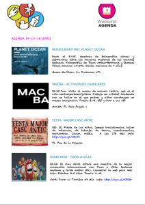 Agenda 21, 22 y 23 junio