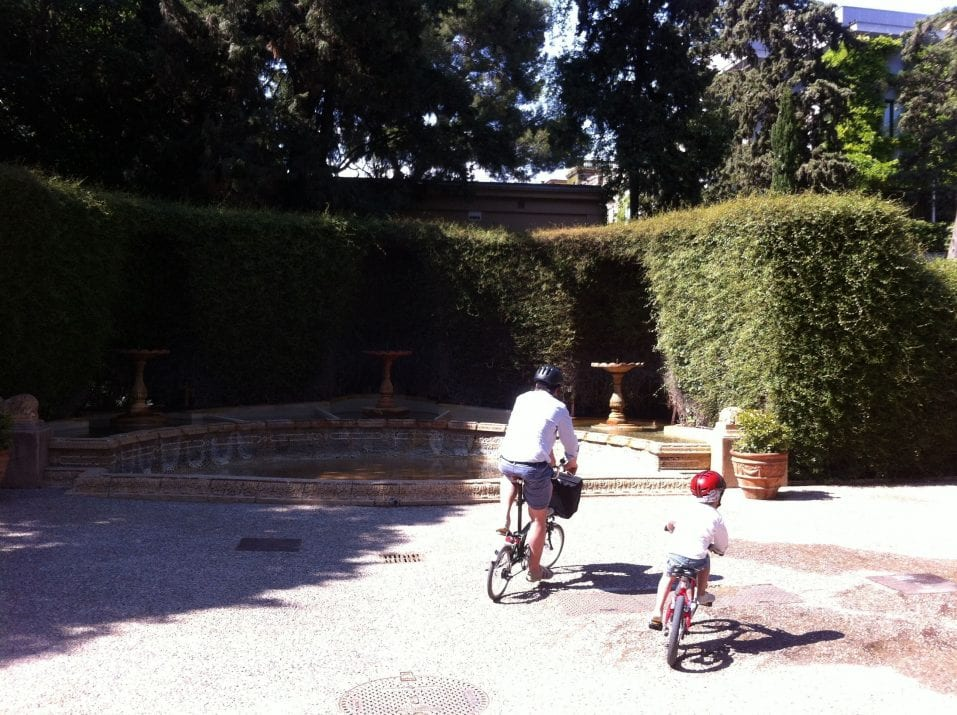 Entrada jardines la Tamarita