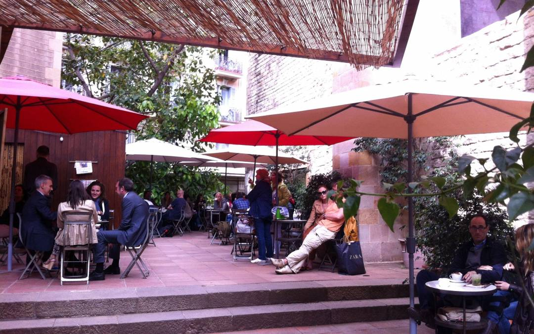 La terraza del Museo Frederic Marès, Cafè d'estiu