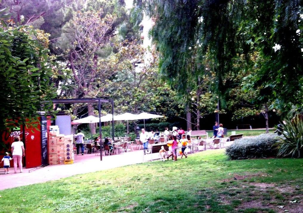 Bar parque Santa Amelia