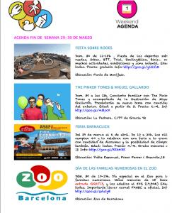 Agenda Barcelona Colours