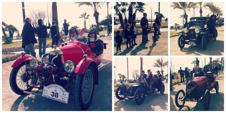 Sitges y el Rally Internacional de coches de época-