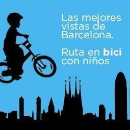 las mejores rutas en bici por barcelona con niños