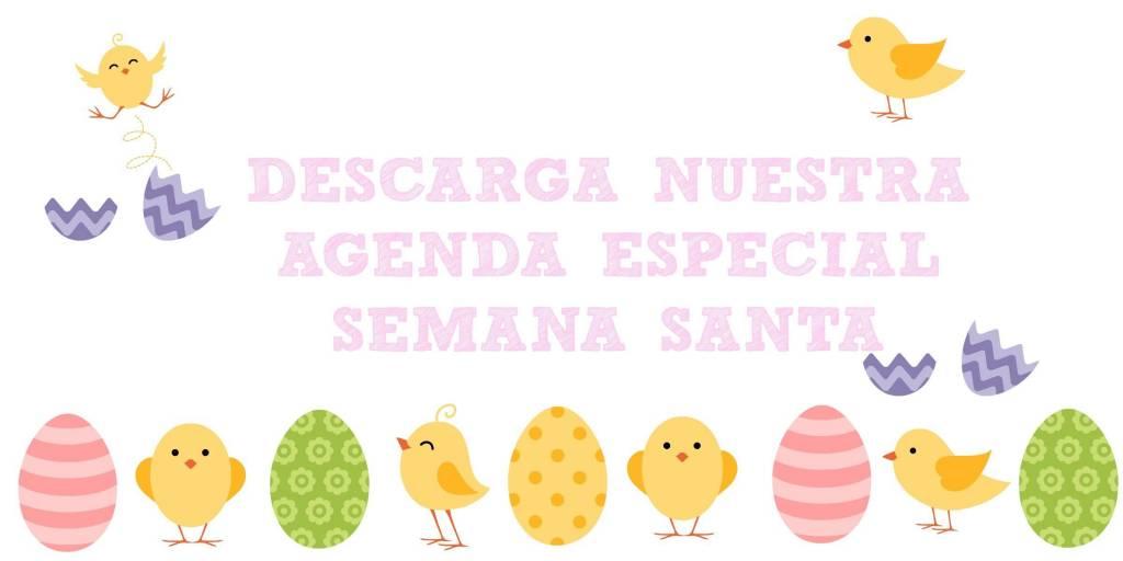 Agenda especial semana santa