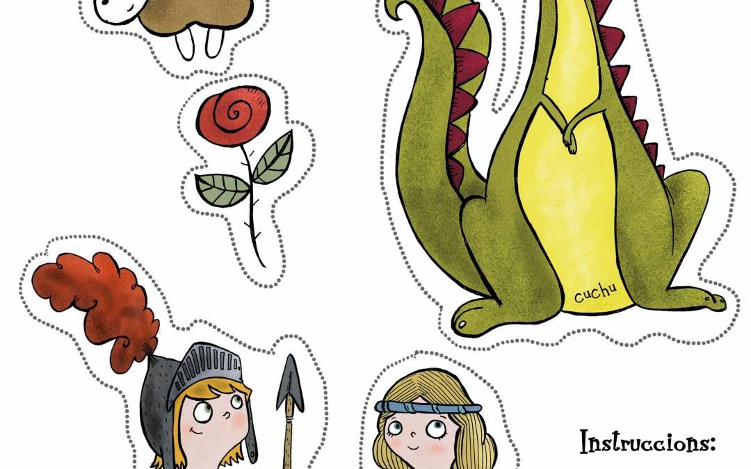 La leyenda de Sant Jordi y un descargable para vuestros hijos