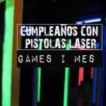 Juego de pistolas láser en Barcelona