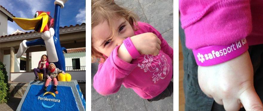 pulseras identificativas infantiles