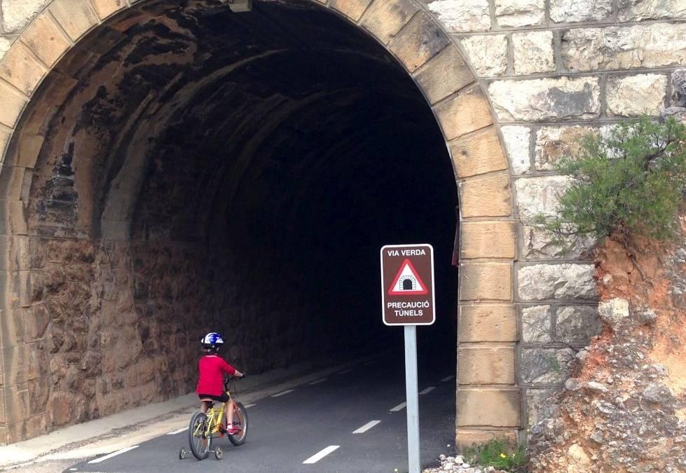 En bici por la Via Verde del Baix Ebre