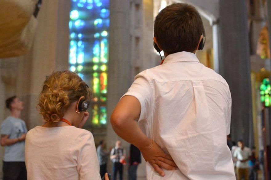Visita infantil a la Sagrada Familia
