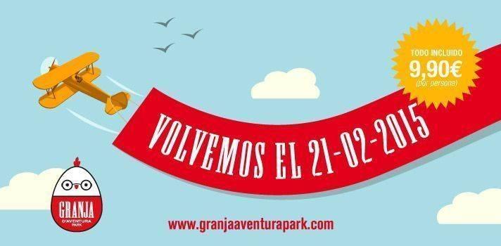 Novedades en Granja Aventura Park y Sorteo