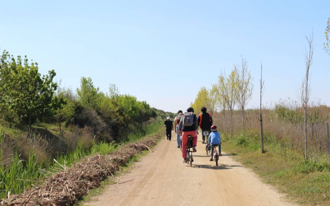 Ruta en bici por el Prat de Llobregat