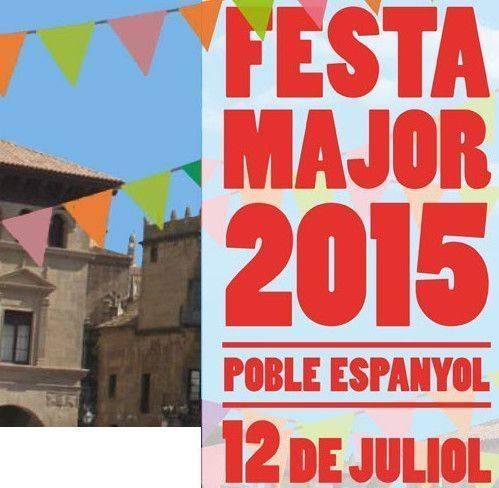 El Poble Espanyol celebra su Fiesta Mayor