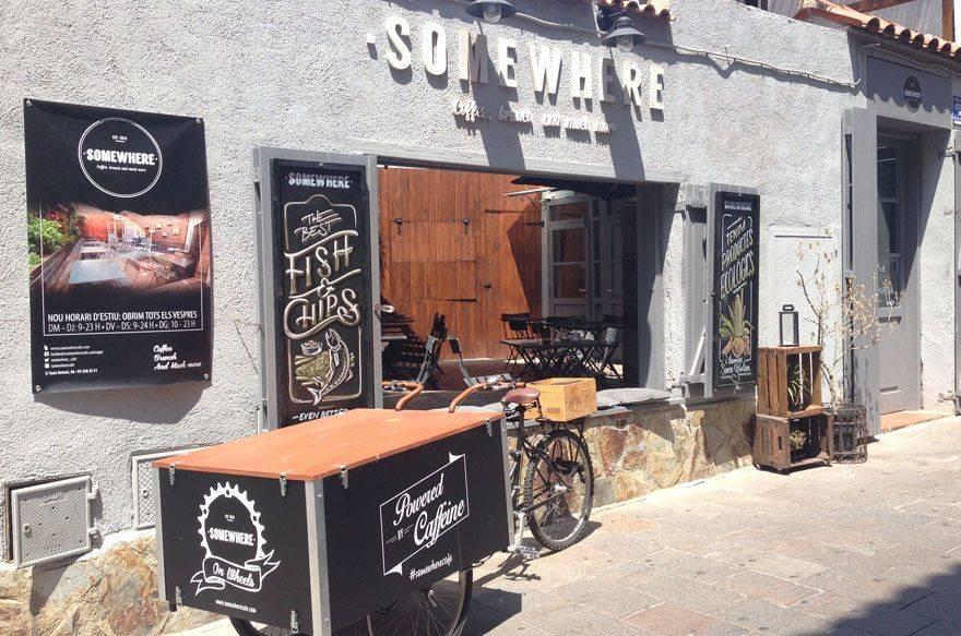 Somewhere Café en Sant Cugat
