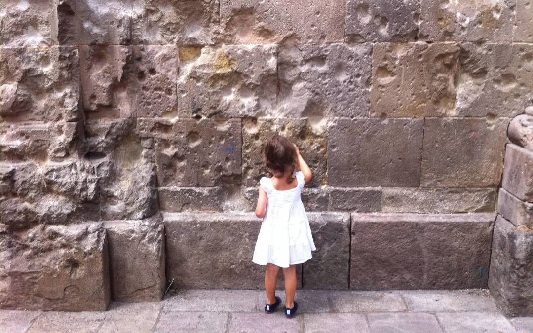 La plaza Neri, conociendo Barcelona con niños