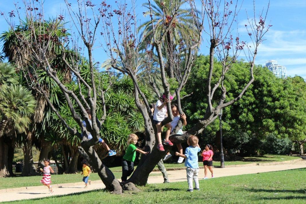 El parque de la ciudadela con ni os barcelona colours for Parques ninos barcelona