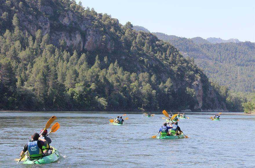 Ruta familiar en Kajak por el rio Ebro