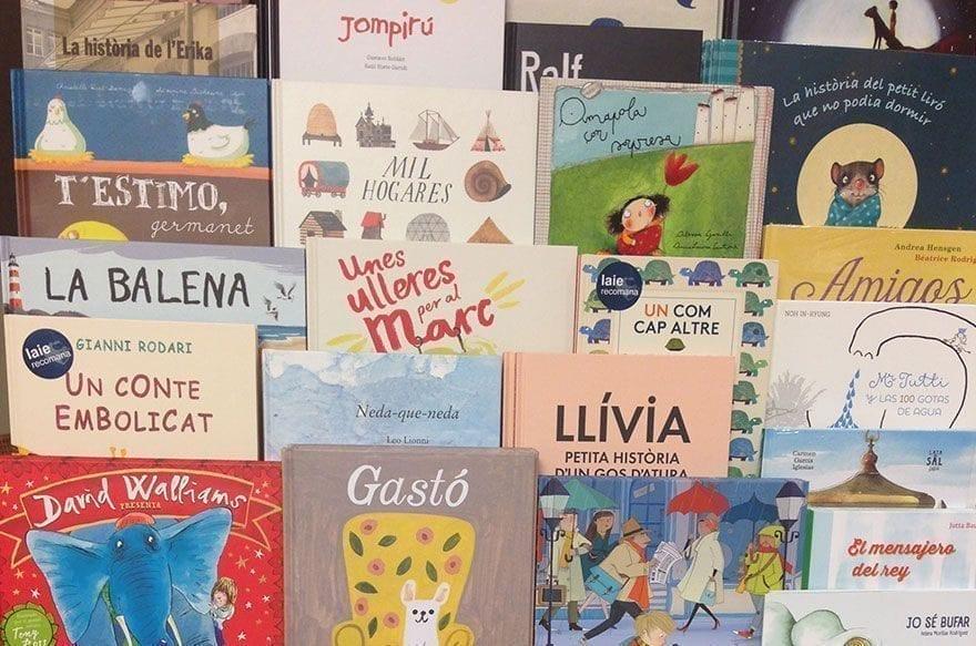 Las mejores librerías para niños de Barcelona
