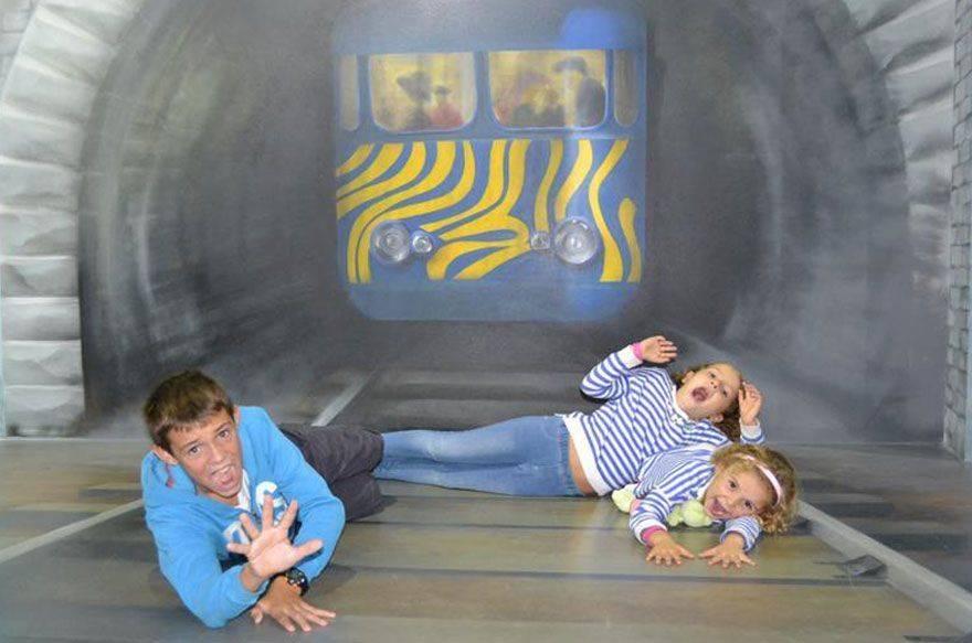 Museo de las Ilusiones ópticas de Barcelona