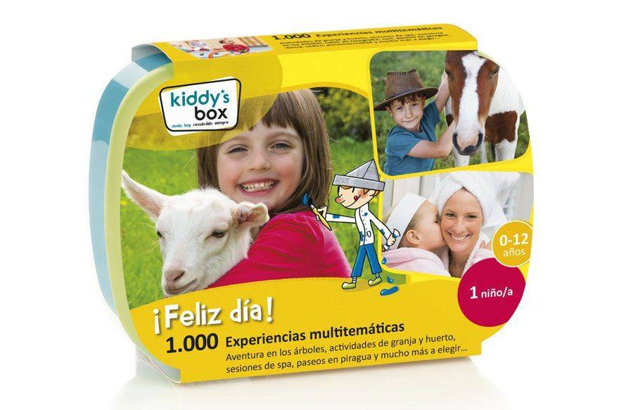 Kiddy's Box para niños: regala tiempo