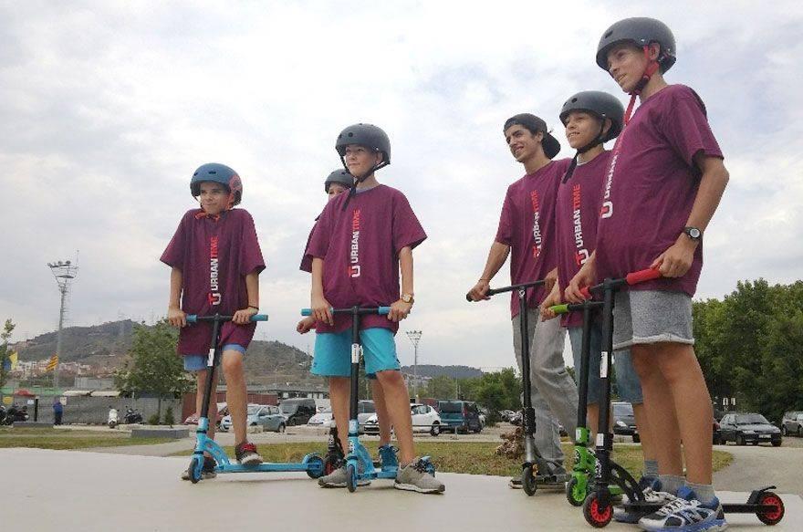 Cumpleaños de Skate & Scooter con Urban Time