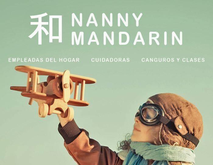 NANNY MANDARIN, CANGUROS INGLESAS Y CHINAS