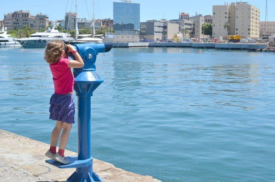 Planes al aire libre con niños en Barcelona