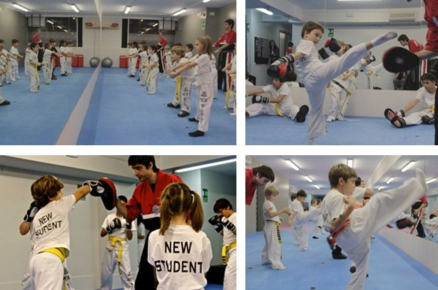 Golden Kyu | extraescolar artes marciales Barcelona