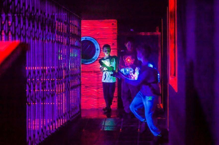 Los mejores sitios de Laser Tag para niños en Barcelona