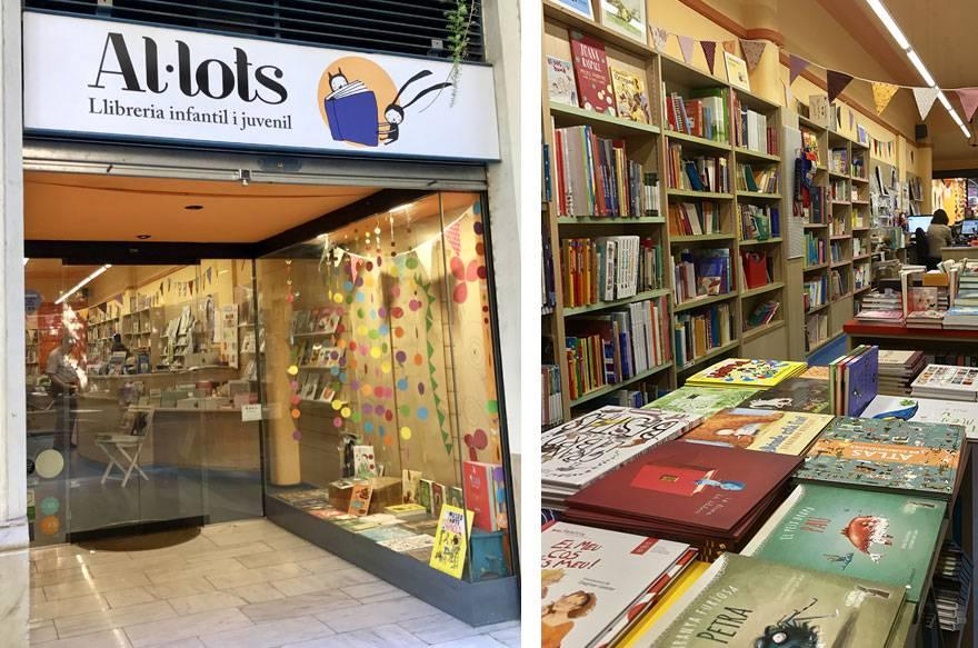 Llibreria Al·lots, libros infantiles y juveniles