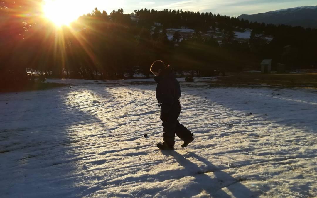 Rasos de Peguera: un día de nieve en familia