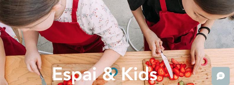 Casales de cocina para niños en Espai Granada