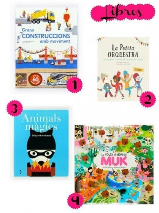 Libros para niños de 0 a 6 años