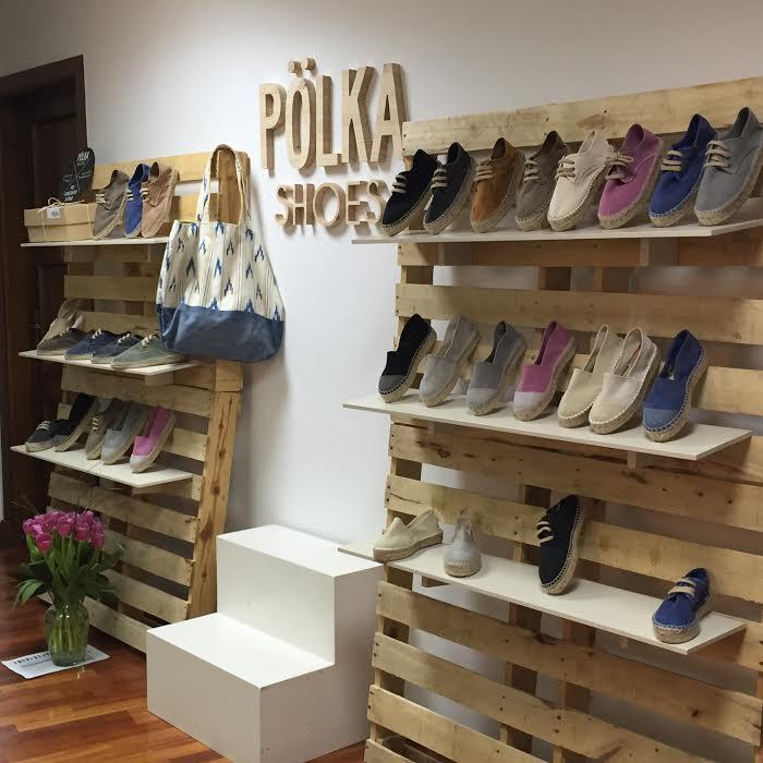 polkas shoes espardeñas